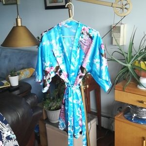 Other - Satin mid length robe. One size fits most.